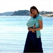 Lucky baby Sukkiri Menthe - Écharpe Sling d'Appoint & Aquatique