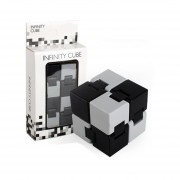 Cubo Plegable Puzzle Y Creative Juguete Para Reducir Estres - Negro Y Girs
