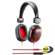 Genius black/red slušalice hs-m470