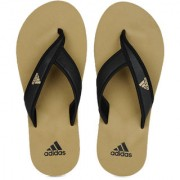 Adidas Men Black Mehendi Adi Rio Flip Flops