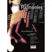 AMA Verlag Rock Guitar Harmonies Jürgen Kumlehn,inkl. CD