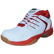 Port Men's Red Spark Pu Training Shoes