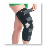 Orteza de genunchi pentru perioada post-operatorie mobila (cu balama), Cod 6311 L