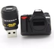 Green Tree Camera Fancy Model USB 8 GB Pen Drive(Black)