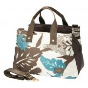 HALLMARK ボタニカル柄あおりボストン【QVC】40代・50代レディースファッション
