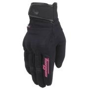 Furygan Jet Evo II Ladies Motorcycle Gloves Black Pink M