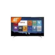 """Smart TV LED 40"""" Semp Toshiba Full HD 3 HDMI USB Wi-Fi Conversor Digital TCL 40S4700S"""