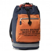 Раница TOMMY JEANS - Tjw Archive Drawstring Bag Blue AM0AM06168 0F7