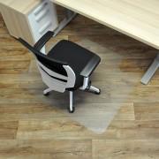 Čirá podložka pod židli na hladké povrchy 02 - délka 120 cm, šířka 100 cm a výška 0,15 cm