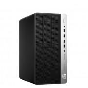 Desktop, HP ProDesk 600 G5 MT /Intel i5-9500 (4.4G)/ 8GB RAM/ 256GB SSD/ Win10 Pro + подарък Keyboard & Mouse (7AC14EA)