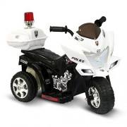 Ride On Toys Battery Powered Lil Patrol 6 V Battery Powered Motorcycle By Kidz Motorz Color: Black And White*