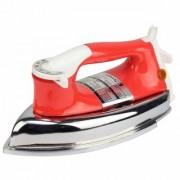 MONEX New Range Of Heavyweight Plancha 1000 W Dry Iron (Red)