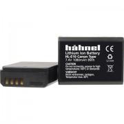 Batteria ricaricabile fotocamera Hähnel sostituisce la batteria originale LP-E10