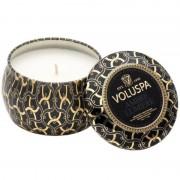 Voluspa Decorative Tin Candle Ambre Lumiere