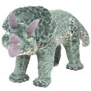 Sonata Плюшен детски динозавър трицератопс за яздене, зелен, XXL