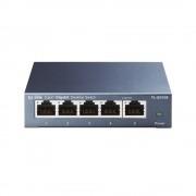 Switch TP-LINK, model: TL-SG105S, 5 x RJ-45 10/100/1000, metal case