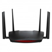 Edimax RG21S Dual-band (2.4 GHz / 5 GHz) Gigabit Ethernet Black wireless router