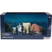 Set 6 figurine National Geographic Animalute polare