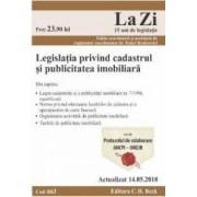 Legislatia privind cadastrul si publicitatea imobiliara Act. 14.05.2018