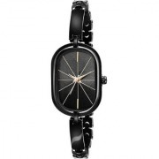 New Black Square Stylist Looking Brand Analog Watch For Women Girls
