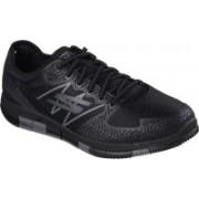 Skechers Go Walk Flex Walking Shoes For Men(Black, Grey)