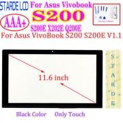 Asus Touch for Asus VivoBook S200 S200E X202E Q200E Touch Screen Digitizer Glass Sensor Panel Replacement Black