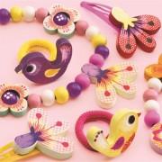 Set bijuterii cu flori Djeco