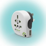 "Q2 power Utazóadapter, ""World to Australia USB"""
