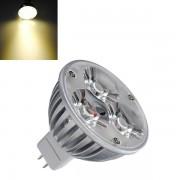 Meco MR16 3W Warm White 210LM 3 LED Energy Saving Spot Lightt Bulbs 12V