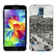 Husa Samsung Galaxy S5 Mini G800F Silicon Gel Tpu Model Vintage City