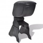 vidaXL Univerzální loketní opěrka do auta - černá