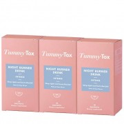 TummyTox Tummy Tox Night Burner drink intense. Sapore naturale al lime. 3x 10 bustine