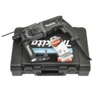 Makita Bohrhammer HR2470BX40 inklusive 13-teiligem Bohrer- und Meißelsatz