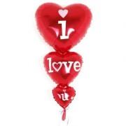 Balon folie I love you