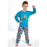 Pijama baieti Caps albastru 110116