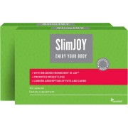 SlimJoy Capsules 1+1 FREE - weight-loss capsules - lower absorption of fats and carbs, 2-month programme