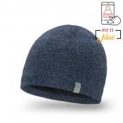 Zimowa czapka męska PaMaMi - Granatowa mulina