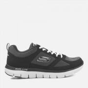 Skechers Zapatillas Skechers Flex Advantage 2.0 - Hombre - Negro/blanco - UK 10/EU 45 - Black/White