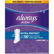 Always Dailies Extra Protect Large 52 Pieces