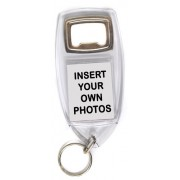 Blank Bottle Opener Photo Keyrings