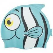 Детска шапка за плуване BESTWAY Hydro Swim Buddy, синя, BW26025-blue