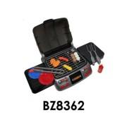 Grillsütő, elemes(3xAA), hangot ad és világít, kiegészítőkkel, 24x13 cm dobozban