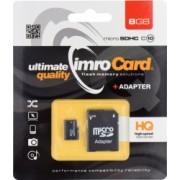 Card de memorie Imro HC UHS-I class10 Micro-SD 8 GB Negru