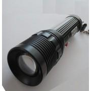 GL-K11 - акумулаторен CREE Q3 LED фенер с регулировка на фокуса и 2 сигнални режима