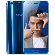 Celulares Huawei Honor 9 4G 5.15'' Android 7.0 Octa Core 2.4GHz 64GB Smartphone Desbloqueado-Azul