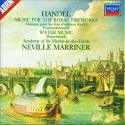 Video Delta Marriner/Academy Of St. Martin-In-The-Fields - Music For The Royal Fireworks/Water Music - CD
