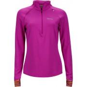 Marmot Excel 1/2 Zip Dam neon berry/deep plum sprint S 2017 Klättertröjor