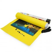 Lavievert Yellow Felt Mat For Puzzle Storage, Puzzles Saver, Long Box Package, No Folded Creases, Environmentally Friendly