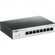 суич D-Link 8-Port PoE Gigabit EasySmart Switch - DGS-1100-08P