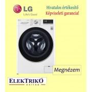 LG F4WN609S1 elöltöltős gőzmosógép,A+++-30% energiaosztály, 9 kg kapacitás, WiFi funkció
